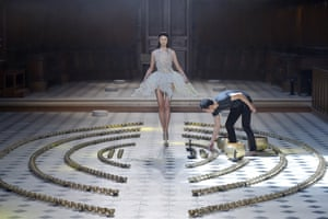 The Iris van Herpen show during the autumn/winter 2016 haute couture fashion week