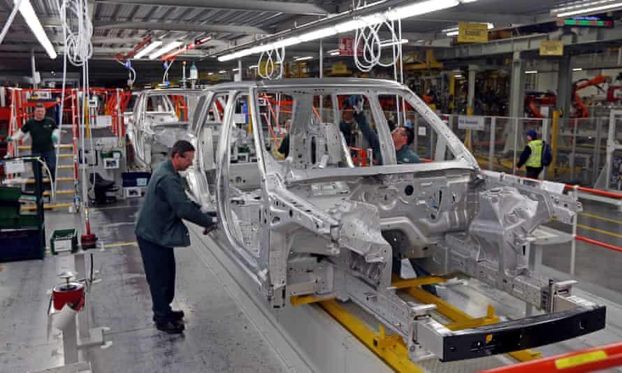 Thousands Of Jaguar Land Rover Logistics Workers To Lose Jobs Jaguar Land Rover The Guardian
