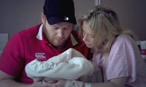 A couple featured in the documentary Child of Mine.