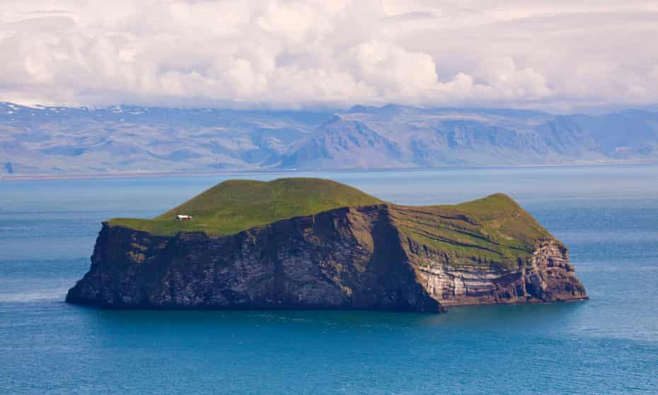 One of the Westman Islands, off southern Iceland.
