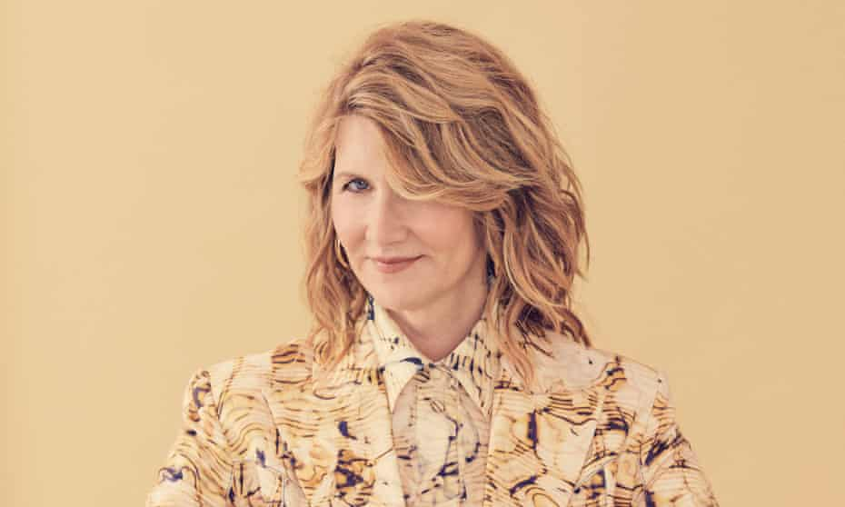 'I now have a real sense of boldness': Laura Dern wears a suit and matching blouse by Camilla and Marc.