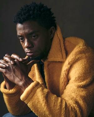 Chadwick Boseman, 1976-2020.