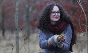 Author Emma Mitchell.
