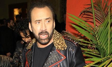 Nicolas Cage.