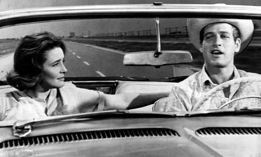 Patricia Neal with Paul Newman in Hud (1963)