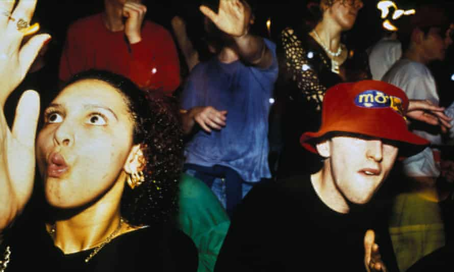 Clubbing together ... revelry in the 90s.