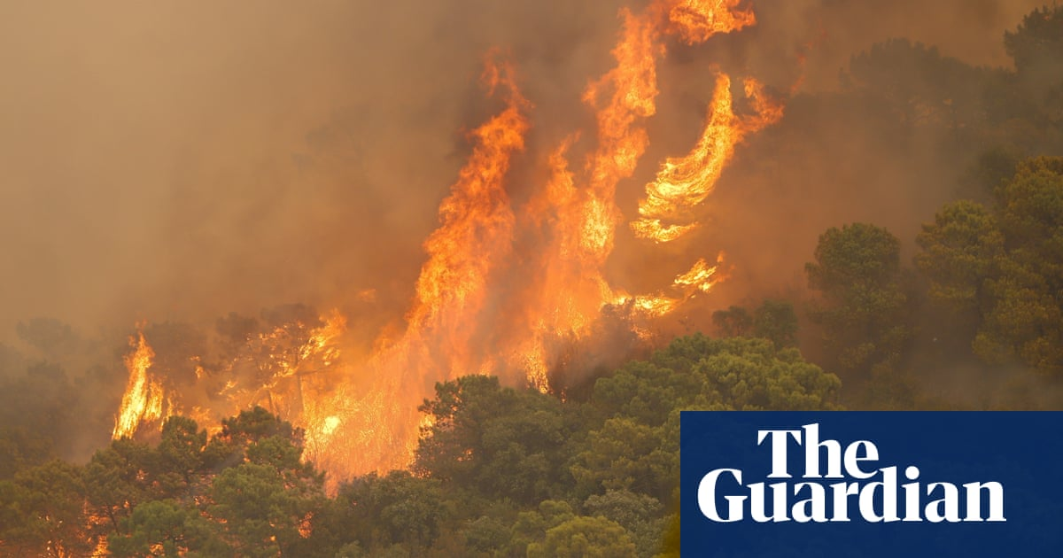 Málaga wildfire causes evacuation of 940 people and claims life of firefighter