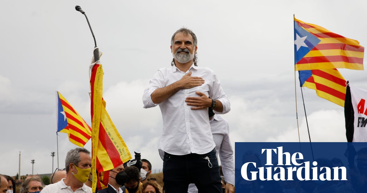 Freed Catalan leader calls on Spain to 'think about future generations'
