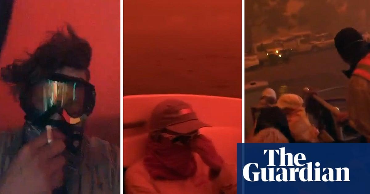 Mallacoota fire: images of 'mayhem' and 'armageddon' as bushfires rage