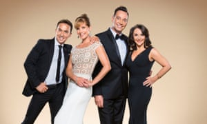 Four on the floor: (left to right) Bruno Tonioli, Darcey Bussell, Craig Revel Horwood and Shirley Ballas, the judges on this year's Strictly Come Dancing.