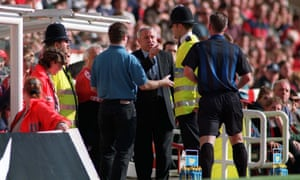 Sunderland manager Peter Reid during the club's doomed 1996/97 campaign