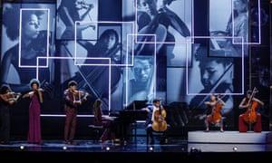 The Kanneh-Masons performing at the 2019 Royal Variety Show