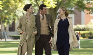 Rebecca Hall, Luke Evans and Bella Heathcote in Professor Marston and the Wonder Women.