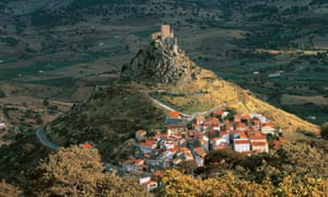 Castle of Burgos, Sardinia, Italy, 12th century