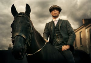 Cillian Murphy as Tommy Shelby in BBC2's Peaky Blinders