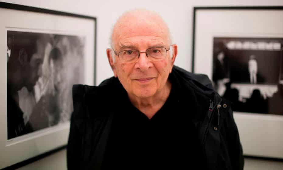 'It isn't just the world that has changed - the very meaning of photography has changed, too' ... Frank Horvat at his exhibition A Trip Through a Mind (The iPad Exhibition), in 2012.