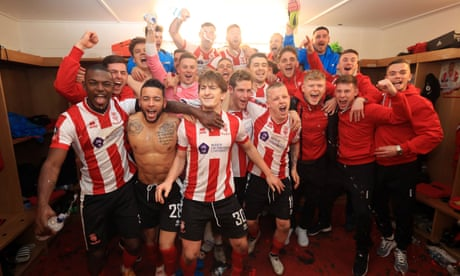 Lincoln City manager Danny Cowley proud of FA Cup 'win for the people'