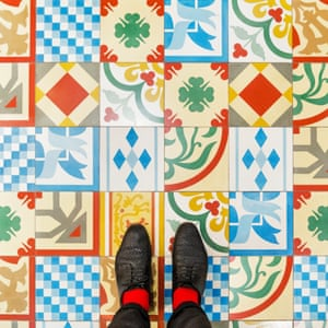 Sestiere San Marco Venetian floor photographed by Sebastian Erras