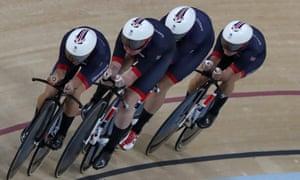 Great Britain break the world record.