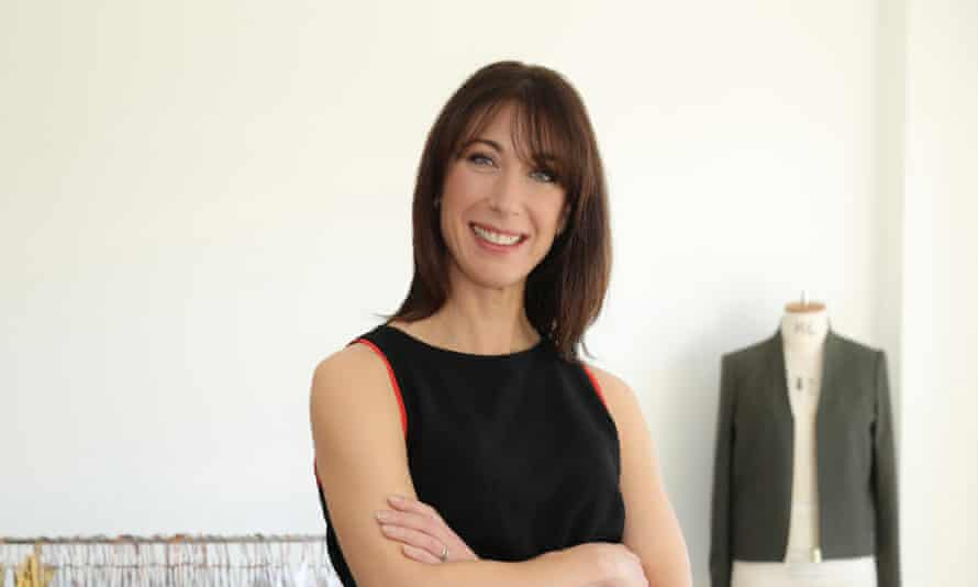 Samantha Cameron takes a break from making her fashion vision a reality.