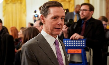 Ralph Reed at the White House in January, for remarks by Donald Trump and Benjamin Netanyahu.
