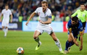 Harry Kane at the Euro 2020 qualifiers, Kosovo, November 2019