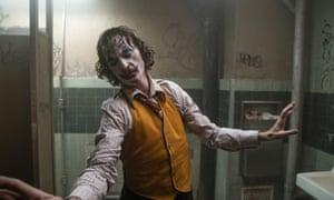 The one to beat … Joker, starring Joaquin Phoenix.