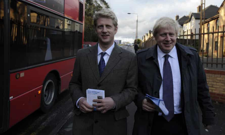 Jo Johnson and his brother Boris, London mayor.