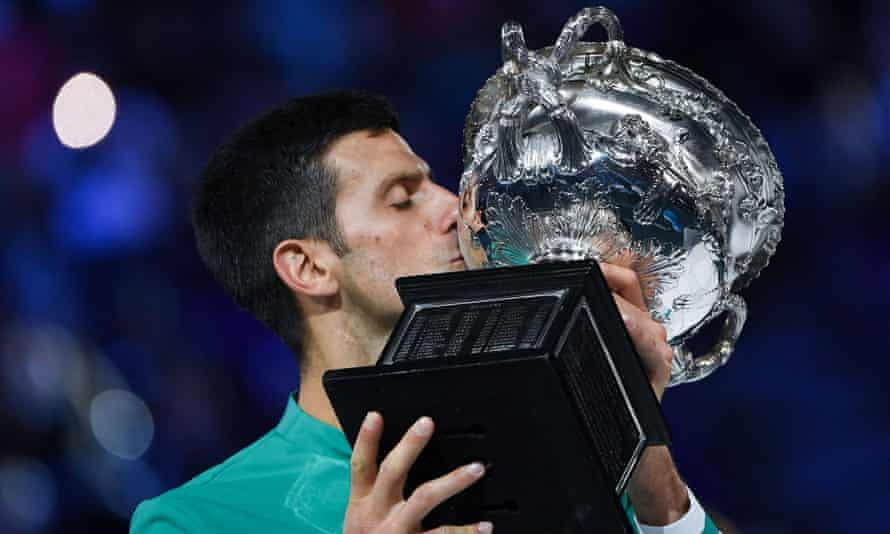 As major tournaments come and go, prophecies of the end of an era become louder and more convincing, yet 10 of the last 11 times they have concluded with Djokovic or Rafael Nadal standing on top of the podium. 'We're talking about some cyborgs of tennis, in a good way,' admitted Medvedev. 'They are better than other tennis players.'
