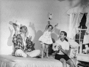 Ruth Bader Ginsburg, her husband, Martin, and their daughter, Jane, in 1958.