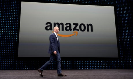 Amazon becomes world's second company to be valued at $1tn