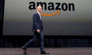 76325746a31b4 Jeff Bezos: the Amazon billionaire and Trump bete noire | Technology ...