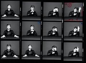 Pg 109 David Bowie Heroes thumb nails © 1977 1997 Risky Folio, Inc. Courtesy of The David Bowie Archive © Photo by Masayoshi Sukita