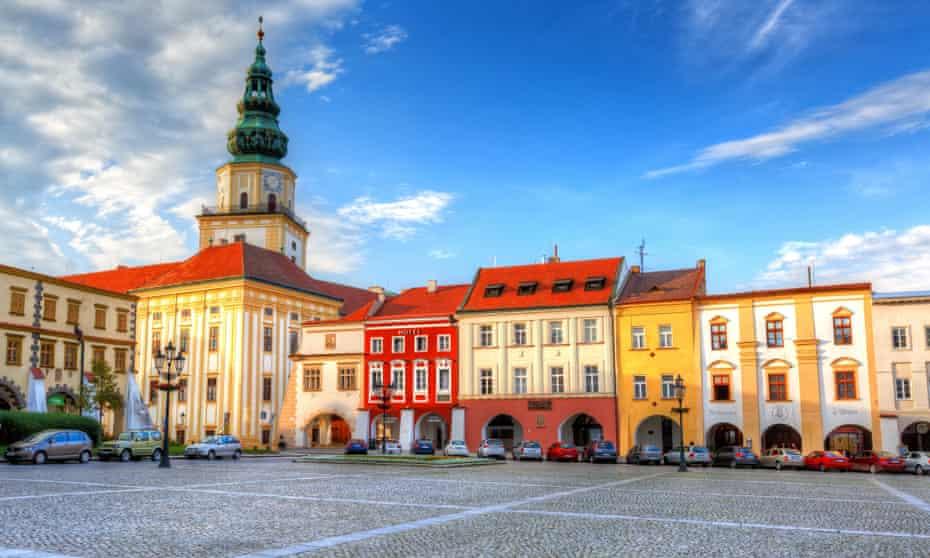 Kroměříž is a 45-minute drive from Brno.