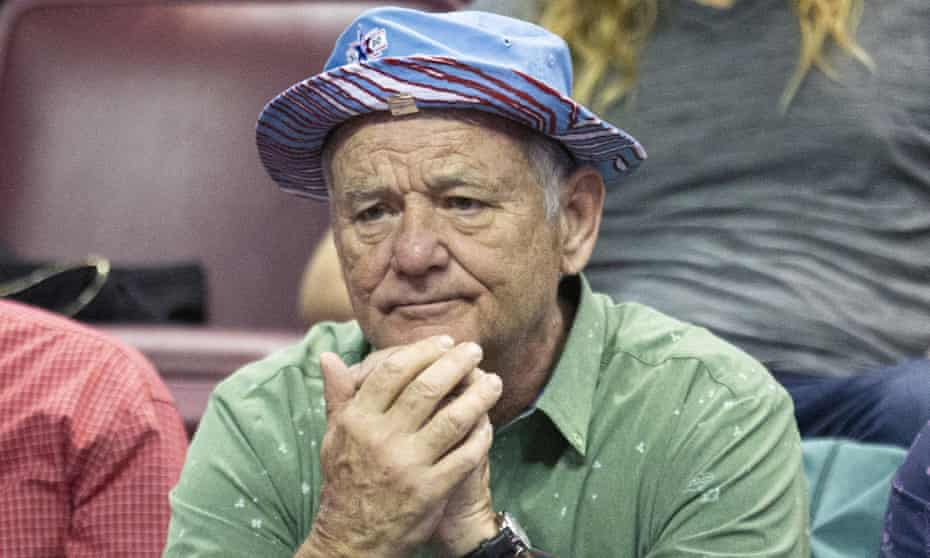 Bill Murray seen in Tallahassee, Florida in February.