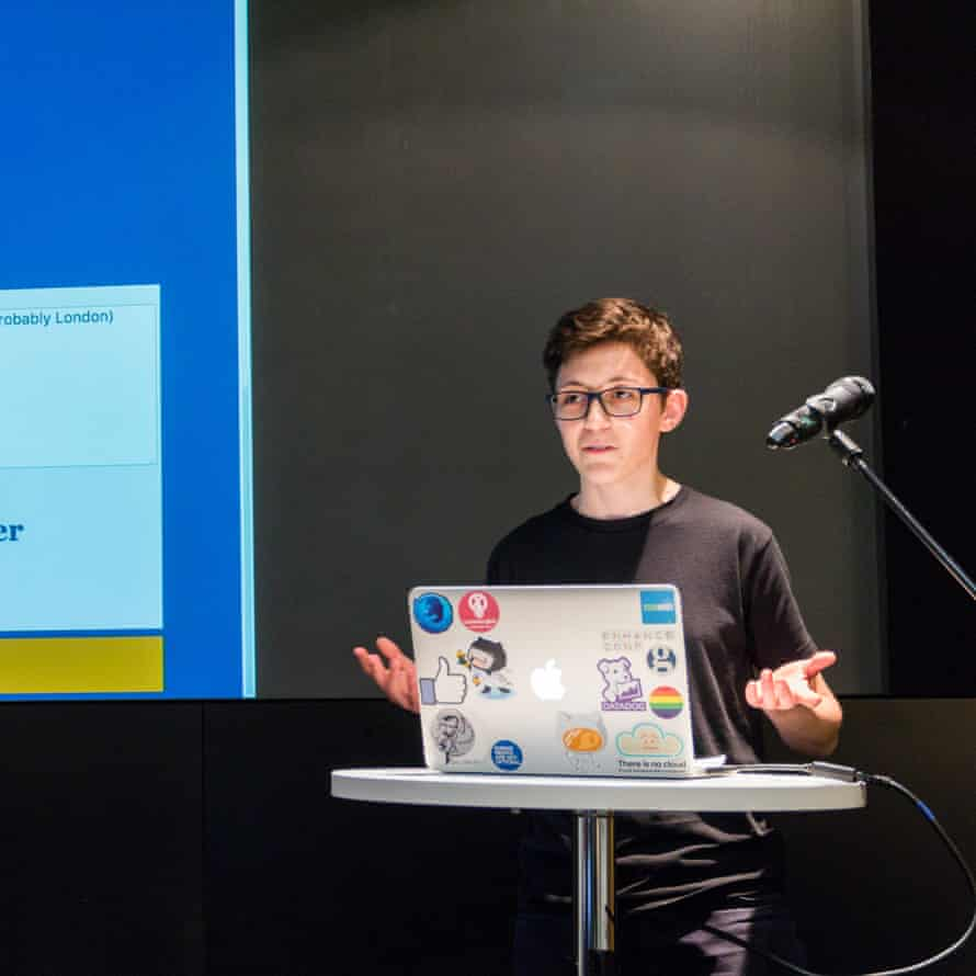 Susie Coleman at the Guardian HackDay 2017