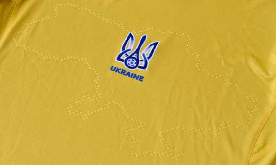 Ukraine's new kit was unveiled on Sunday, days before the European Championship kicks off.
