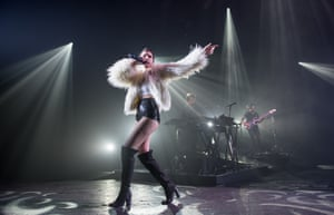 Halsey live review – feel the howl… | Music | The Guardian