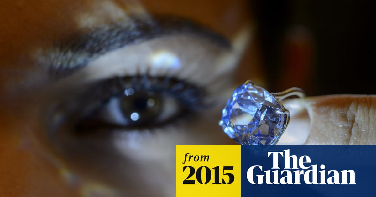 Billionaire Buys 7 Year Old Daughter Blue Moon Diamond For Record 48m Hong Kong The Guardian