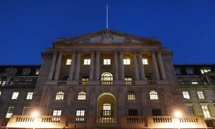 The Bank of England, which set a gloomy forecast in November for the economy.