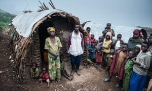 A village in the Democratic Republic of the Congo