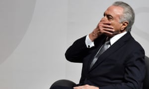 Brazilian president Michel Temer. After multiple political scandals, many Brazilians feel they are running out of politicians to trust.