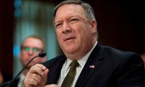 Mike Pompeo, Donald Trump's nominee for secretary, of state was cleared by the Senate foreign relations committee on Monday.
