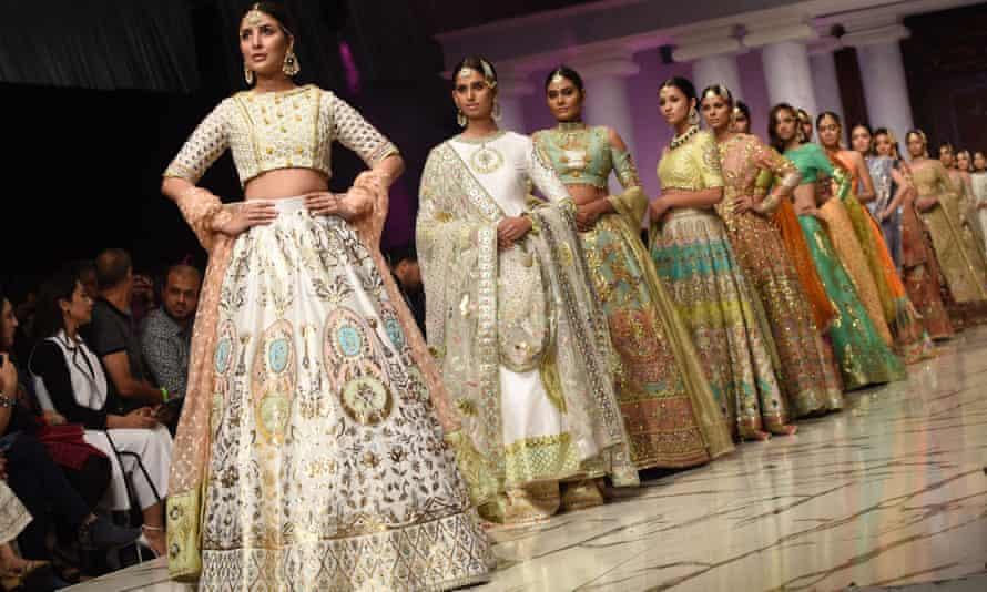 The Pakistani designer Wardha Saleem's collection
