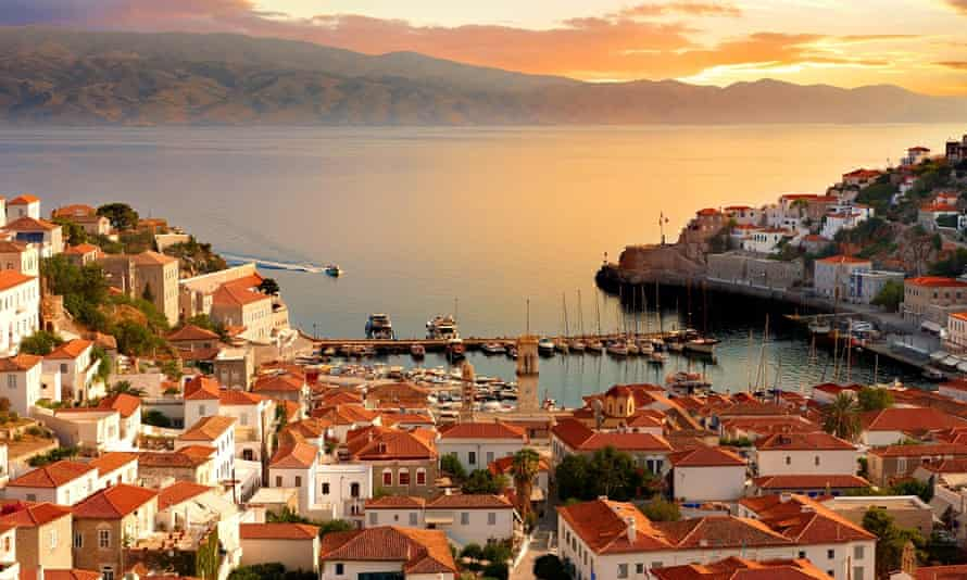 Escape from bourgeois restrictions … Hydra, Greece.