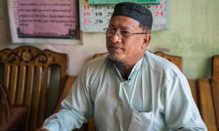 Haj Yan Aung, a Muslim and a former member of the  Union Solidarity and Development Party