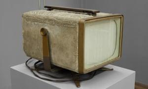 Rich and pungent … Ed Kienholz's Television Set (1967).