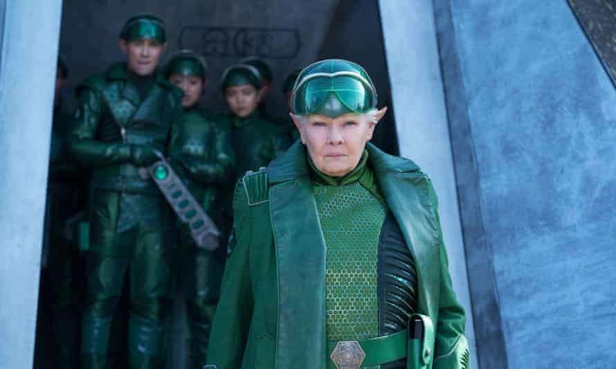 Judi Dench dons the green in Artemis Fowl.