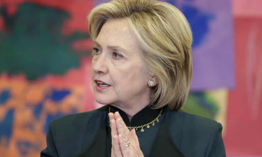 Hillary Clinton in Chicago on Wednesday. The emails are due to be officially released by the State Department, but the New York Times obtained a third of them early.