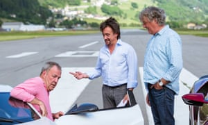 Not for everyone: Clarkson, Hammond and May in the second season of The Grand Tour.